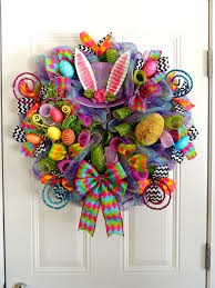 Mad Hatter Decorations Purple Mad Hatter Wreath Deco Mesh Easter Wreath Alice In