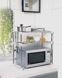 etagere rangement cuisine meuble micro ondes et desserte de cuisine pour decoration cuisine