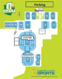 Ohio University Parking Map by Ohsaa U003e Fan Guide U003e Directions