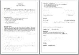 sle of personal information in resume 28 images government