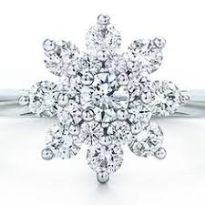 snowflake engagement ring hearts on engagement ring wedding jewelry starburst diamonds