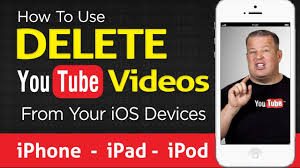 how to delete a youtube video from iphone ipod ipad youtube