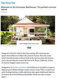 Cottage Living Magazine by Mill Valley Architect Richardson Architects Richardson