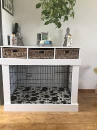 Dog Crate Furniture Bench Bench Ombouw Deze Bench Ombouw Heb Ik Gemaakt Voor Een Golden