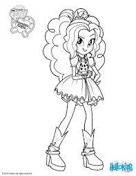 my little pony coloring pages adagio dazzle coloringeast com