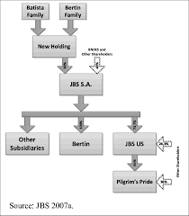 pilgrim pride application merger of jbs with bertin in december 2009 and acquisition of