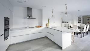cuisines blanches cuisines blanches de santos des modèles qui répondent au style