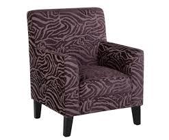 monika purple animal print occasional chair hastac 2011