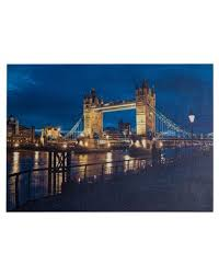 tableau d馗oration chambre mobili tableau decoration murale canvas tower bridge