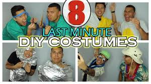 cheap creative halloween costume ideas 8 last minute diy halloween costume ideas very cheap youtube