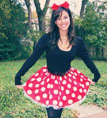Minnie Mouse Womens Halloween Costume Minnie Mouse Skirt Perfection Mickey Minnie Mouse