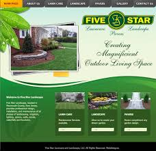 All Star Landscaping by Web Design Archives Graphic And Web Design