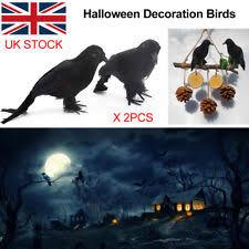 Realistic Halloween Decorations Uk by Halloween Crow Celebrations U0026 Occasions Ebay