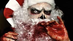 creepy claus not so merry santa wicked horror