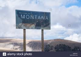 Montana travelers stock images Welcome sign montana stock photos welcome sign montana stock jpg