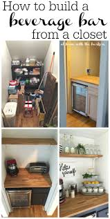 Bar At Home How To Build A Beverage Bar At Home With The Barkers