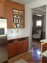 Kitchen Shaker Cabinets by Subway Tile Backsplash Cherry Kitchen Cabinets Stainless Steel