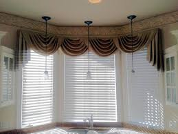 Swag Curtains For Living Room Swag Curtain Valance Wood Blinds Curtains Pinterest Window