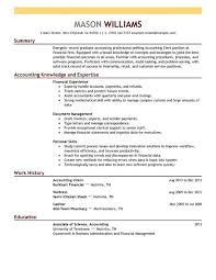 Examples Of Resume Names by 16 Amazing Accounting U0026 Finance Resume Examples Livecareer