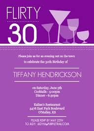 30th birthday invitation cimvitation