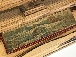 ec rare books rokeby a poem by sir walter scott fore edge painting