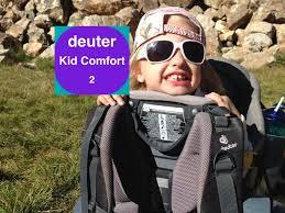 Deuter Kid Comfort Ii Sunshade Deuter Kid Comfort Ii Review Watch This First Youtube