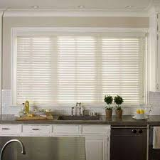 Where To Buy Wood Blinds 2 5 Faux Wood Blinds Blinds The Home Depot