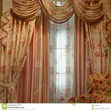 luxury curtain stock image image 1628831