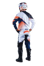 childs motocross gear answer new 2016 youth mx syncron white orange kids motocross gear