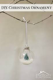 diy snow globe ornament ornament globe and