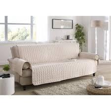 protege canape idéal housse de canapé liée à protege canape 3 places ivoire les