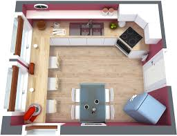 Kitchen Designs Plans Kitchen Floor Plan Roomsketcher
