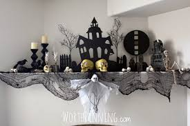 Halloween Home Decor Ideas by Halloween Fireplace Decorating Ideas Halloween Fireplace