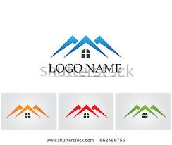 Home And Design Logo Real Estate Vector Logo Design Template Stock Vector 221991406