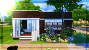 the sims 4 build modern cabana youtube