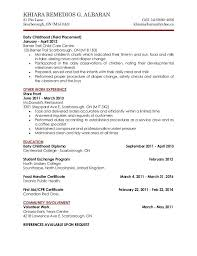 resume child care assistant resumes for child care tradinghub co