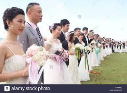 bintan indonesia 10th may 2016 twenty two chinese couples