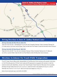 Johnson City Tennessee Map by Med Maps Case Studies James H Quillen Va Medical Centermed Maps