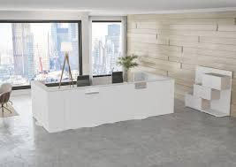 modular reception desk laminate reverso buronomic