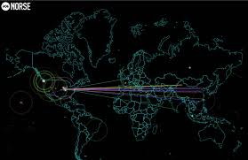 Ddos Map Is This What The First World Cyber War Looks Like Global Real