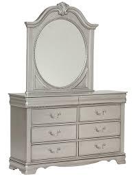 standard furniture jessica 8 drawer dresser u0026 ornate mirror set