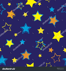 abstract seamless pattern girls funny wallpaper stock vector