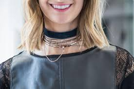 stainless steel choker necklace images Enfashion safety chain chokers necklaces pendants gold necklace jpg