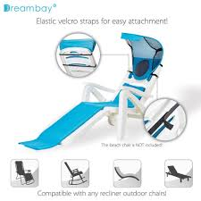 Amazon Beach Chair Amazon Com Portable Beach Chair Sunshade With Beach Towel