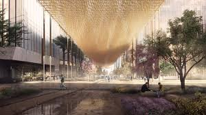 Island Canopy by This Urban Canopy Could Help Cool Super Cities Co Design