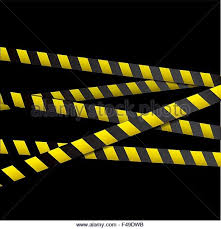 black and yellow ribbon crime ribbon stock photos crime ribbon
