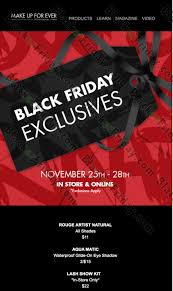 does mac cosmetics have black friday sale make up for ever black friday 2017 sale u0026 deals blacker friday