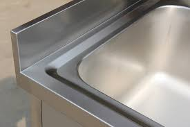 commercial sinks used befon for