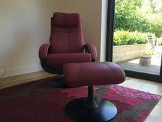 Reclining Armchair Leather Katia Swivel Recliner Armchair In Arena Leather And Walnut Base