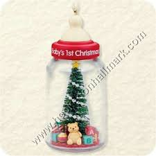2008 baby s baby bottle hallmark ornament at